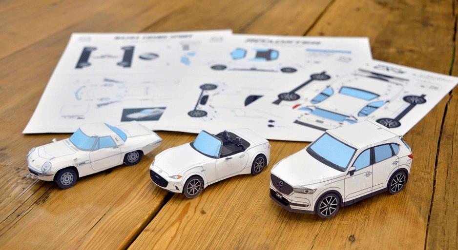 Maresa Center - Mazda - Origamis